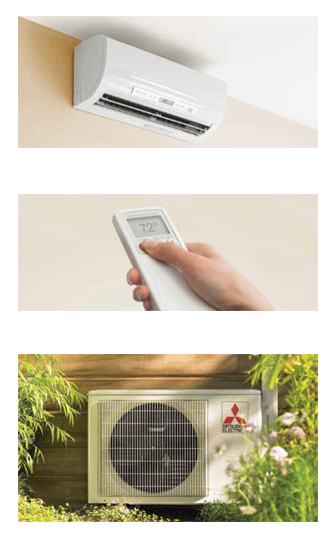 Mitsubishi ductless AC systems from Tropic Aire image