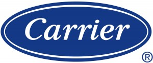 Carrier heating and AC logo