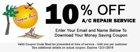2017 AC Repair service coupon image